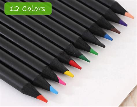 Joyko Pensil Warna 12 Warna pensil warna black wood drawing sketches 12 warna black jakartanotebook