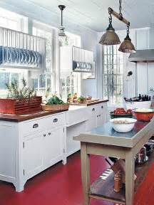 Red And Blue Kitchen by Farmhouse Kitchen Ideas My Natural Family