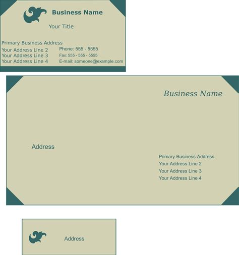 Credit Card Envelope Template custom card template 187 business card envelope template