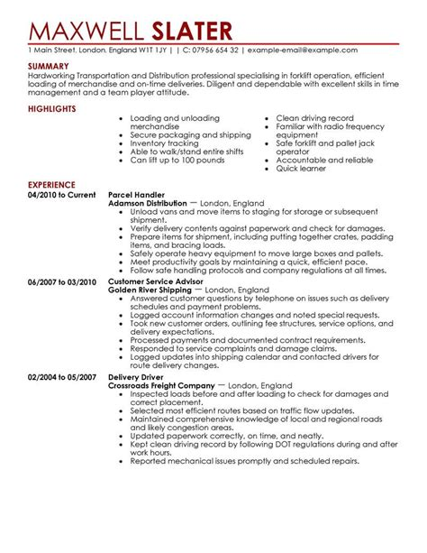 resume templates ideas of logistics manager transportation resume transportation resumes exles logistic manager resume exles