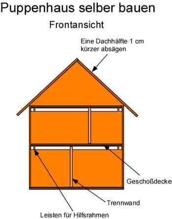 Puppenhaus Selber Bauen Anleitung by Puppenhaus Selber Bauen