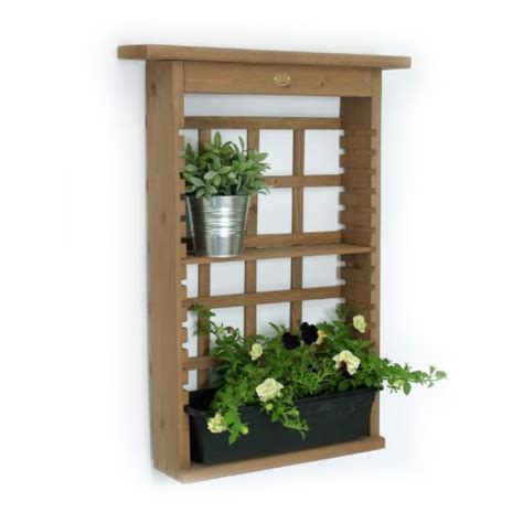 Decorative Wall Planters by Algreen 34003 Garden View Vertical Living Wall Planter