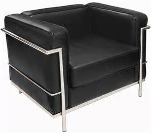 modern classic leather reception seating chair