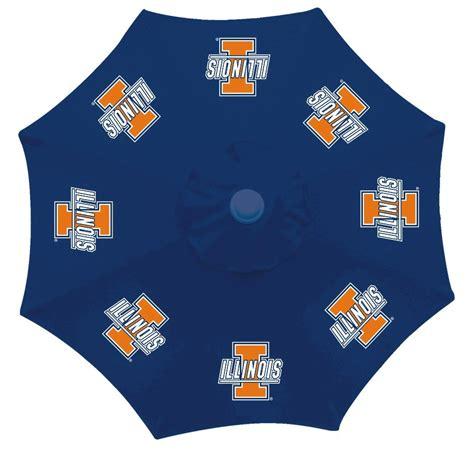sports team fan gear patio tailgate 9 foot umbrella ncaa college teams fan