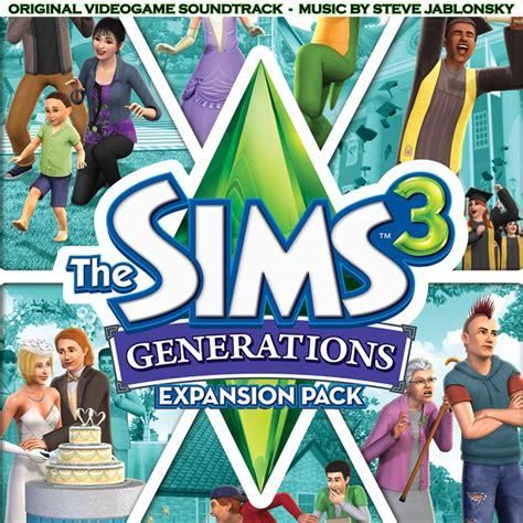 Be Original 3 the sims 3 generations original videogame soundtrack