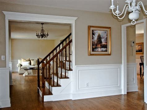 Traditional Wainscoting Classic Colonial Raised Panel Wainscoting Traditional