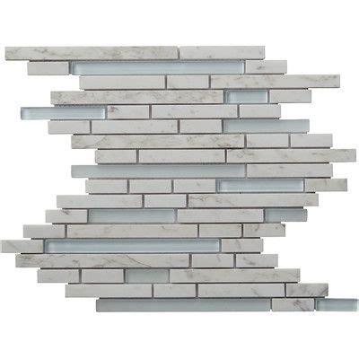 1sf carrara white marble mint glass random linear mosaic 1000 images about kitchen on pinterest quartz kitchen