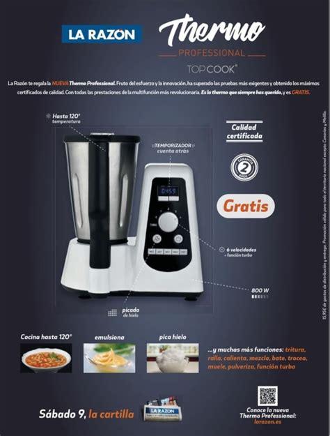robot cocina newcook opiniones thermo professional otro robot de cocina gratis con la raz 243 n
