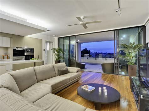 room for living brisbane riverside apartment in brisbane showing a resort like lifestyle freshome