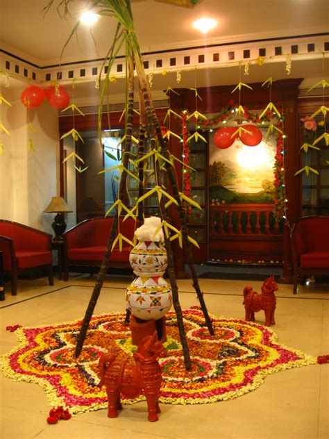 Decorating Home For Diwali File Office Pongal Celebration Jpg Wikimedia Commons