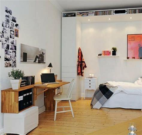 schlafzimmer mit schreibtisch 30 skandinavische schreibtische stilvolle deko ideen