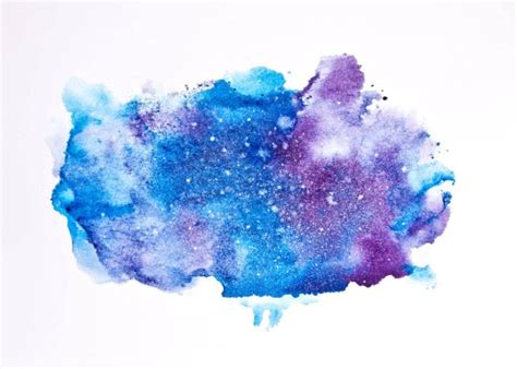 tutorial watercolor galaxy how to paint a watercolor galaxy nebula and night sky 10