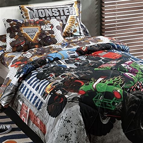 monster truck comforter monster truck bedding sets