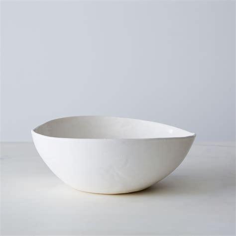 Handmade Porcelain - handmade porcelain salad bowl bowls serveware looks