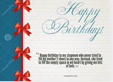 Happy Birthday Step Quotes Happy Birthday To My Stepmom Who Never Tried To Fill My