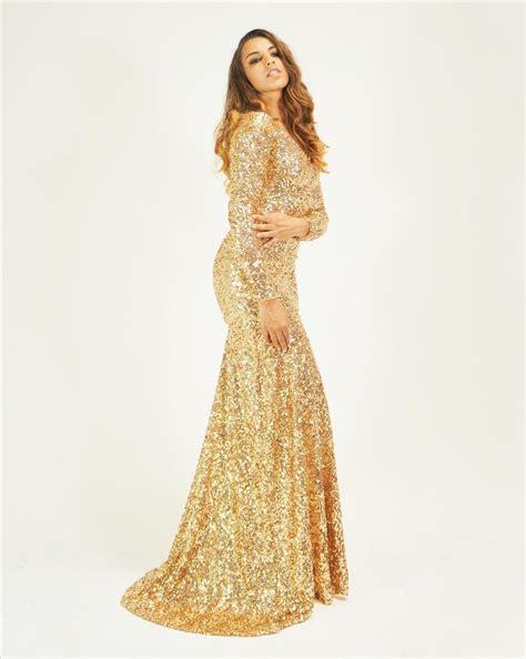 Longdress Mermaid gold dresses oasis fashion