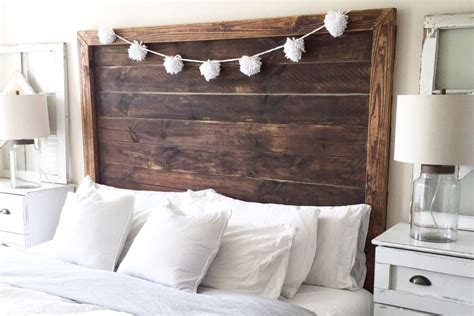 home made headboards 25 diy headboards you can make in a weekend or less