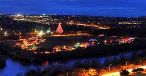 light bulbs austin tx zilker park trail of lights austin texas christmastime