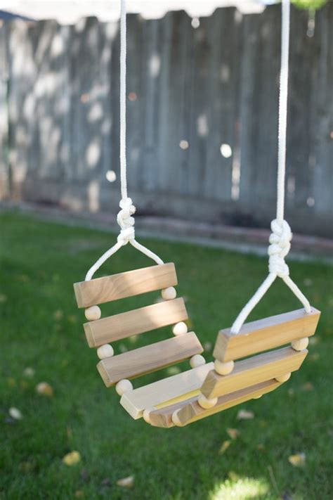 Fabriquer une balançoire simple pour enfant