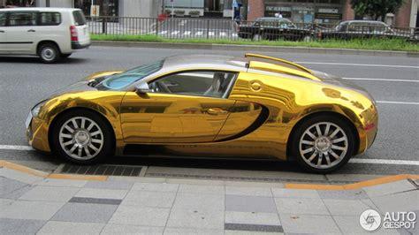 Schnellstes Auto Der Welt Höchstgeschwindigkeit by Goldener Bugatti Veyron 16 4 In Tokio Gespottet