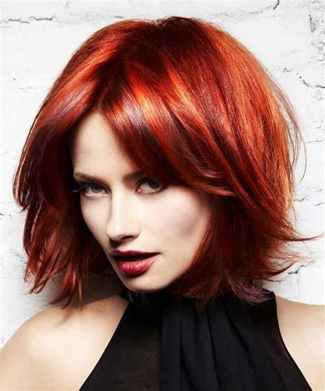 hairstyles for medium length hair red 15 thick medium length hairstyles hairstyles haircuts