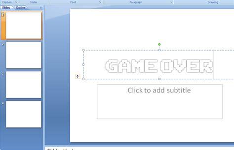 cara membuat game powerpoint cara membuat the scary maze game dengan powerpoint