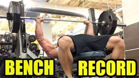 combine bench press record watch did brad castleberry just break a nfl combine