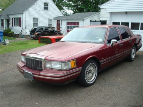 service manual 1991 lincoln town car how to replace air intake sensor service manual 1991