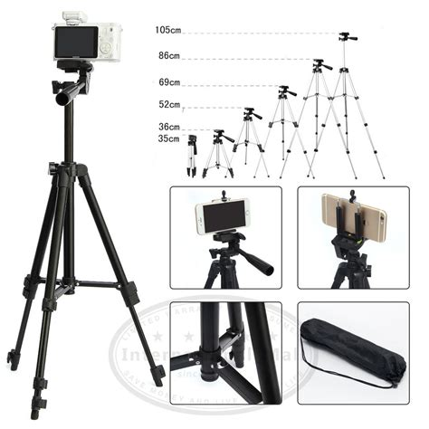 Tripod Holder 105cm professional tripod stand holder for iphone 6s plus samsung note5 4 3 ebay