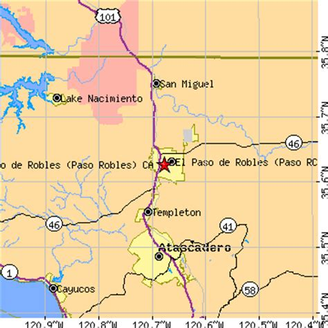 where is el paso located in california usa el paso de robles paso robles california ca