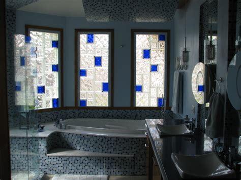 glass block windows for bathrooms glass block bathroom windows modern bathroom new