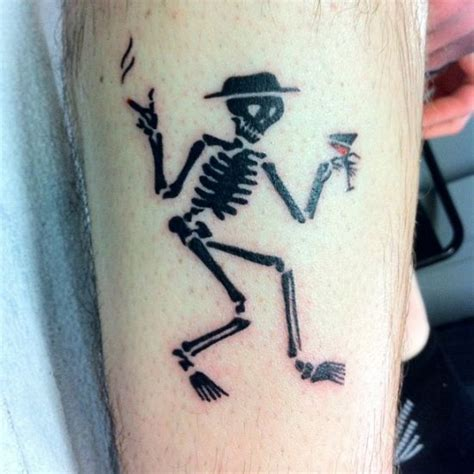 social distortion tattoo 25 awesome skeleton tattoos