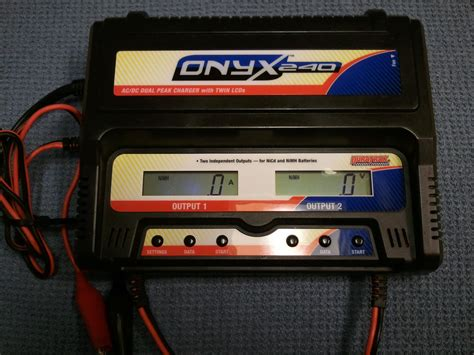 hyperion dual charger hyperion ac dc eos6060i and onyx 240 dual charger r c