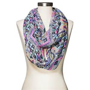 Target Infinity Scarf S Geometric Dot Print Infinity Scarf Mul Target