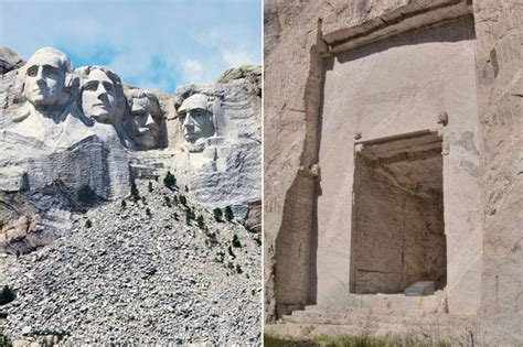 hidden room behind mount rushmore there s a secret room behind mount rushmore and there s