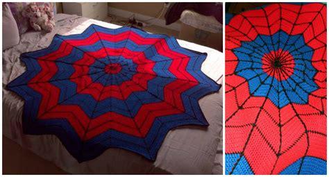 pattern for spiderman afghan crochet spiderman afghan pretty ideas