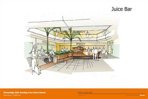 layout of stoneridge mall stoneridge mall pleasanton ca on behance