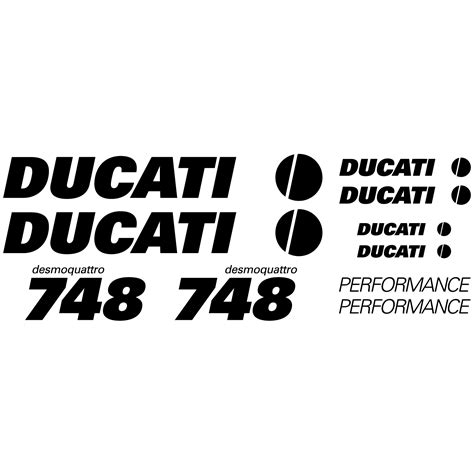 Kaos 748 Desmo Logo 1 stickers ducati 748 desmo pas cher