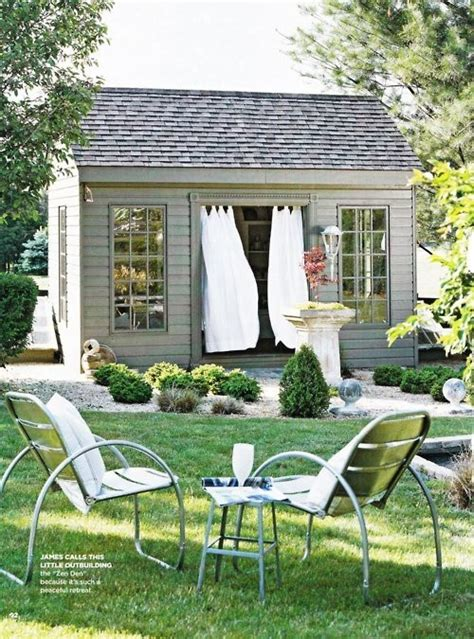 backyard guest cottage 1000 images about ideas for shed into guest space on