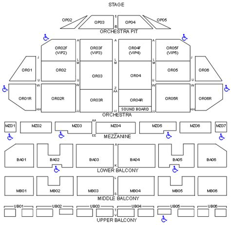 fox st louis seating chart fox theater st louis seating chart with seat numbers