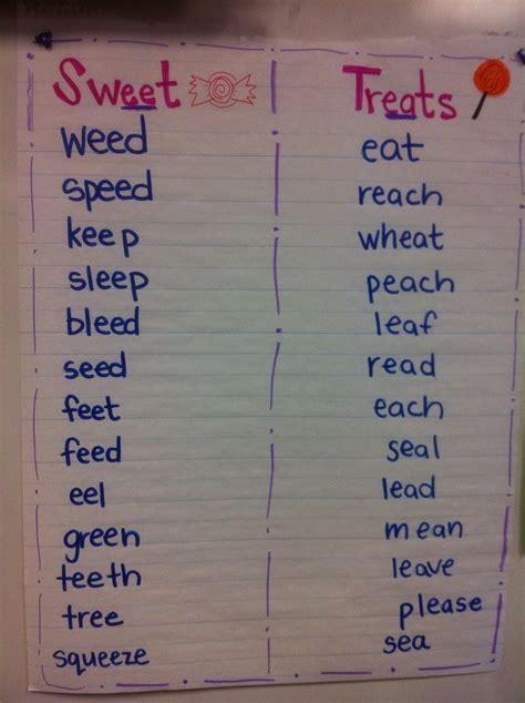 ee pattern words ee and ea words reaping readers pinterest