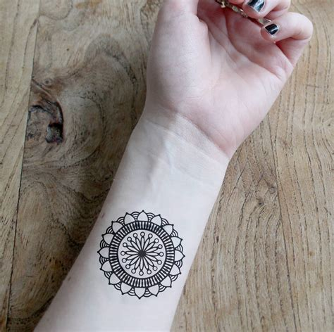 small mandala tattoo 70 small tattoos designs ideas mens craze