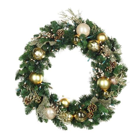 battery led wreath lights christmas wreaths with lights sanjonmotel