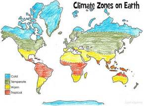climate map of print and color this climate zones of earth map this is