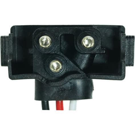 3 prong molded connector pigtail for lights la47pb