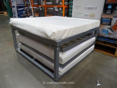 stowaway sleeper ottoman novaform stowaway folding bed costco guest sleeper