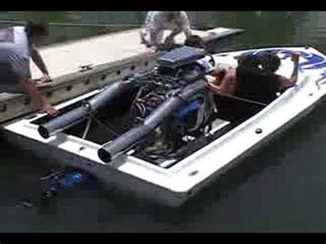 v8 fan boat loud jet boat youtube