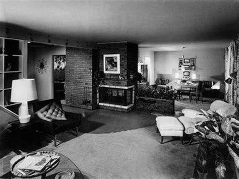1950s house interior indoor of 1950s homes mid century modern crush