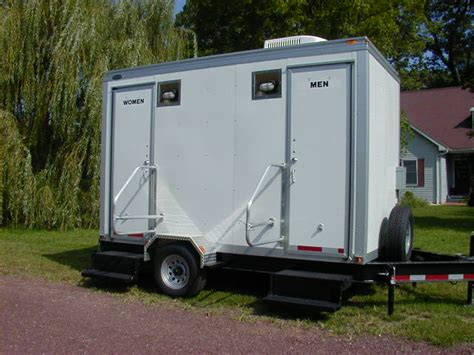 portable bathroom trailer billy s septic pumping service