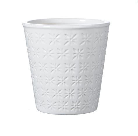White Ceramic Plant Pots White Ceramic Flower Pots